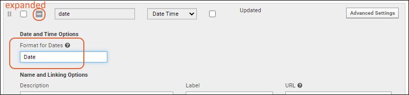 Date & Number Display Formats: /Documentation