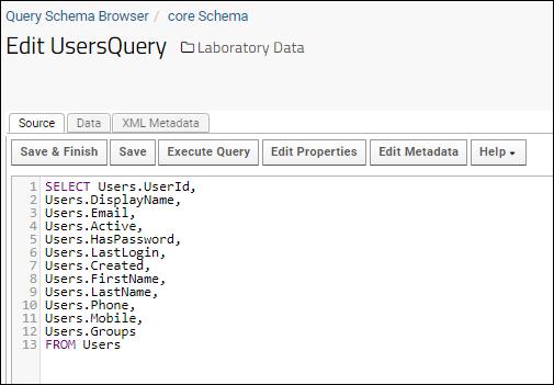 LabKey SQL Tutorial: /Documentation
