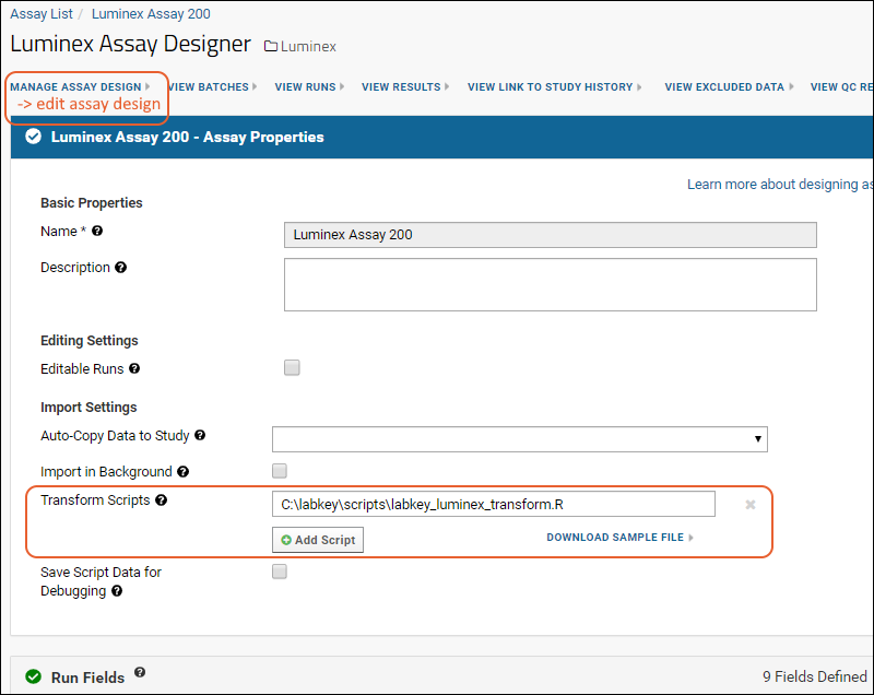Step 2: Configure R, Packages and Script: /Documentation