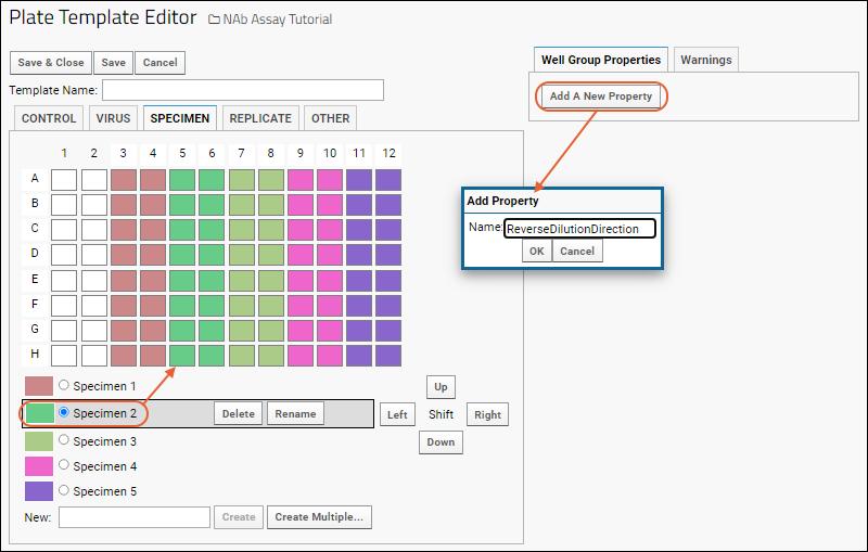 Customize NAb Plate Template: /Documentation
