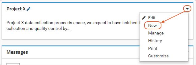 Step 2: Create a Wiki: /Documentation