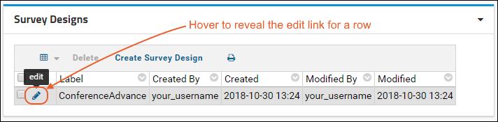 Tutorial: Survey Customization, Step 2: /Documentation