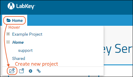 Create a Project or Folder: /Documentation