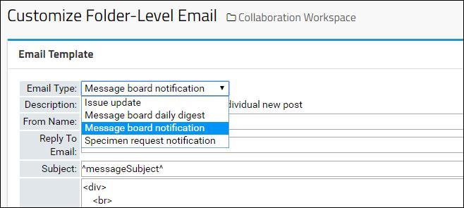 Email Template Customization: /Documentation