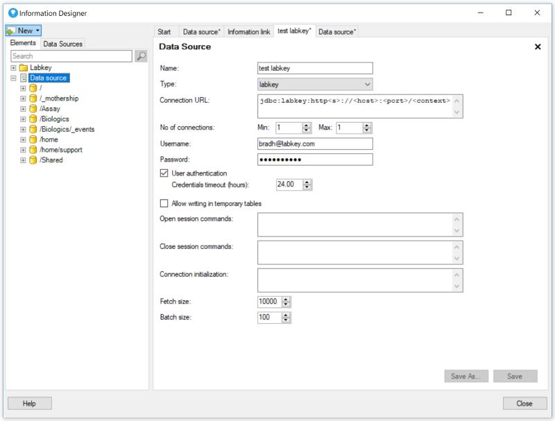 Spotfire Integration: /Documentation
